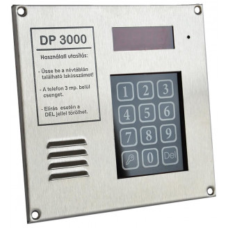 DP3000 kaputelefon központ...